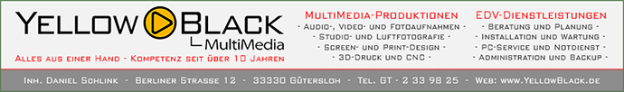 Banner YellowBlack MultiMedia